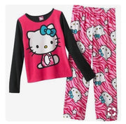 Hello Kitty Pajama Set Pink Personalized Size 4