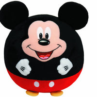 Ty Beanie Ballz Mickey Mouse Plush, Medium 38550