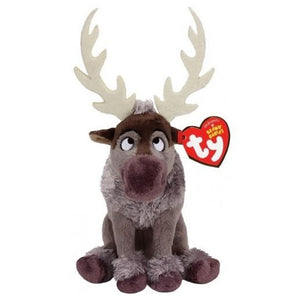 Ty Inc Beanie Baby Plush Stuffed Animal Sven - The Reindeer 7 inch - 41151