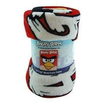 "ANGRY BIRDS 50"" x 60"" Plush Throw Blanket - Personalized"
