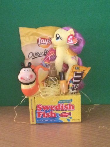 My Little Pony Fluttershy Ty 41019 Inspiring Gift Basket Birthday Basket Get Well Soon Basket