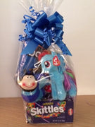 My Little Pony Rainbow Dash Ty 41015 Inspiring Gift Basket Birthday Basket Get Well Soon Basket