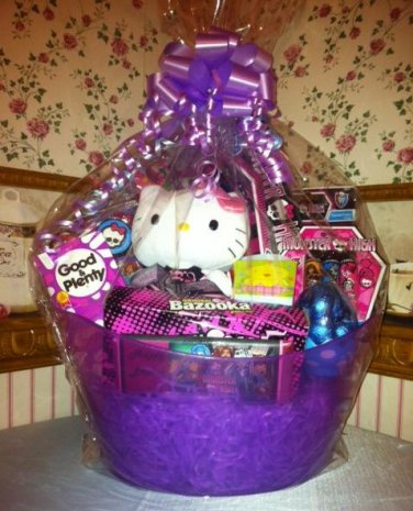 Monster High Gift Basket Arrangement with Beach Towel Personalized