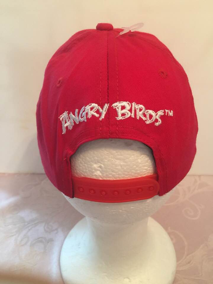 c585591e2e7 Angry Birds Kid s Sized Baseball Cap  Red Bird - Personalized ...