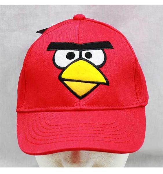 Angry Birds Kid's Sized Baseball Cap: Red Bird - Personalized