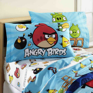 Angry Birds by Rovio Entertainment Pillowcase - Personalized