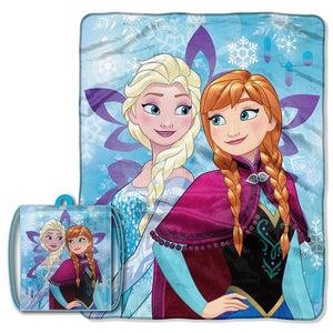 Frozen 'Crystal Magic' Drawstring Tote and Throw Set - Personalized
