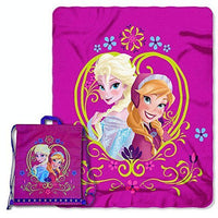 Disney Frozen Drawstring Tote and Throw Set - Personalized
