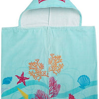Disney's The Little Mermaid Ariel Hooded Bath towel wrap - Personalized