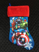 Avengers Christmas Stocking 18 inch - Personalized T1
