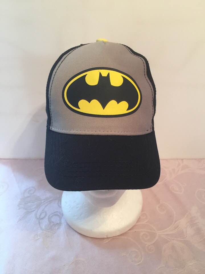 Batman Logo Boys' Baseball Cap ‑ Toddler Boy's Cap - Personalized