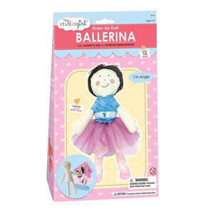 My Studio Girl: Dress-Up Doll Ballerina Angie Sew Kit