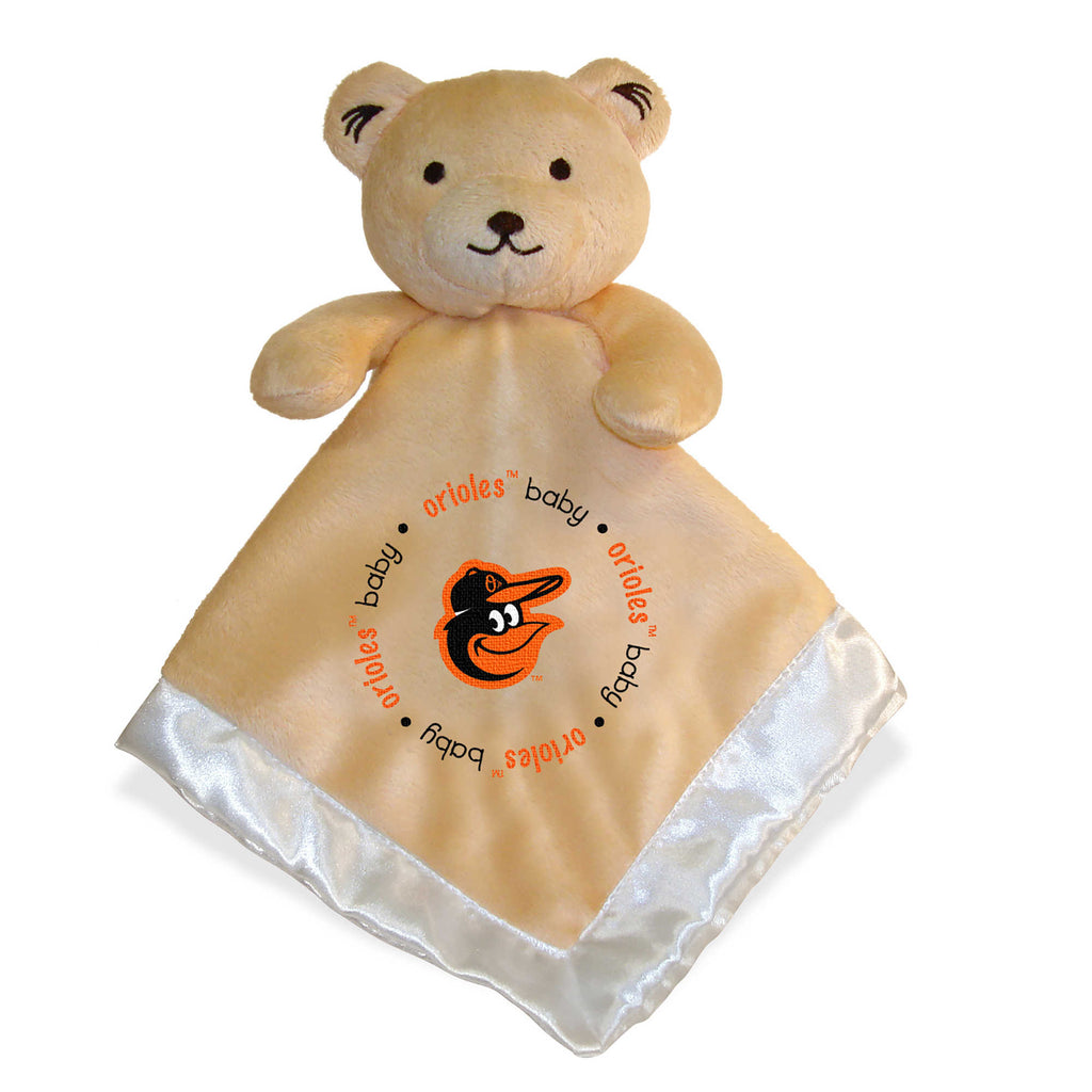 Baltimore Orioles MLB Security Bear Security Blanket Lovey - Personalized