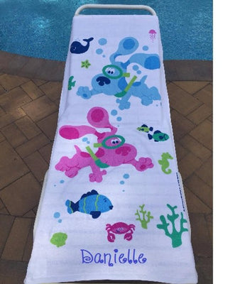 Blues Clues Beach Towel - Personalized Beach Towel