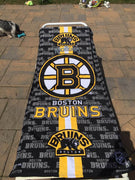 Hockey NHL Boston Bruins Cotton Beach Towel - Personalized
