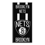 "Basketball NBA Brooklyn Nets ""Zone Read"" Beach Towel Personalized"