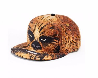Star Wars Chewbacca Baseball Hat Flatbill Cap – Boys – Personalized