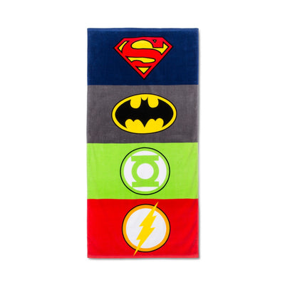Justice League Beach Towel - DC Comics - Personalized
