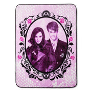 Descendants Auradon Throw Blanket - Personalized