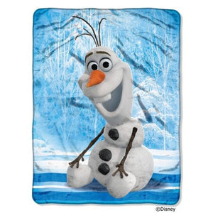 Disney Frozen Olaf Super Plush Throw - Personalized