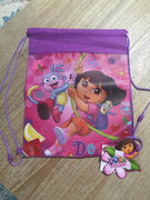 Dora the Explorer Drawstring Backpack Sling Bag – Personalized