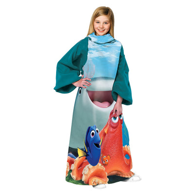 Disney/Pixar Finding Dory Comfy Throw with Sleeves - Personalized
