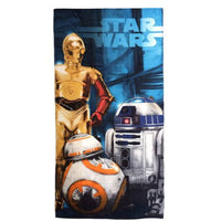 Star Wars Droids Beach Towel - Personalized