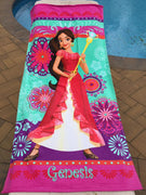 Disney Elena of Avalor Beach Towel - Personalized Beach Towel