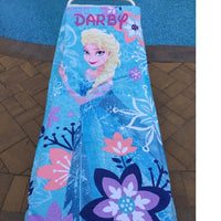 "Frozen ELSA Cotton Beach Towel - Personalized Over-sized 30"" x 60"""