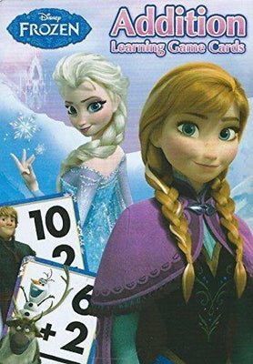 Disney Frozen Addition and Learning Flash Cards