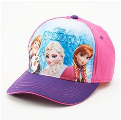 Disney's FROZEN Olaf, Kristoff, Elsa & Anna Baseball Cap Hat Girls Personalized