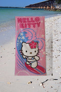 Hello Kitty Surfs Up KITTY Beach Towel - Personalized