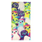 "Hatchimals ""Hatch Party"" Beach Towel - Personalized"