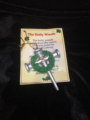 Christmas Ornament - Cross of Nails Christmas Ornaments with Card