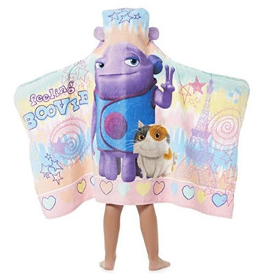Dreamworks Home 'Oh' Hooded Towel wrap - Personalized