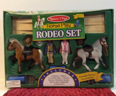 Horse Play Rodeo Set Melissa & Doug 2683