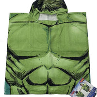 Marvel Avengers 'Hulk' Hooded Poncho Towel – Personalized