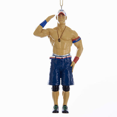 WWE Wrestling Ornament - John Cena Christmas Ornament