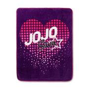 "Jo Jo Siwa JoJo Siwa Purple Throw Blankets (46""x60"") - Personalized"