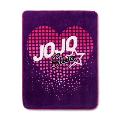 Jo Jo Siwa JoJo Siwa Purple Throw Blankets (46