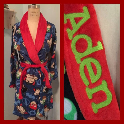 Justice League Boys Robe - Personalized Monogrammed