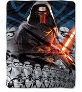 Star Wars: The Force Awakens 'Lead Force' Silky Soft Throw - Personalized