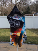 Star Wars Hooded Beach Bath Towel Wrap Stormtrooper Kylo Ren - Personalized
