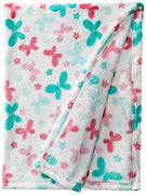 "Baby Lovespun Butterlies Plush Blanket Blanket 30""x40"" - Personalized Monogrammed"