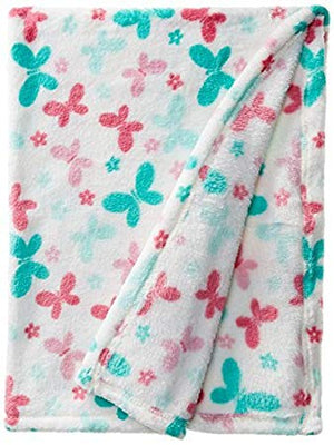 Baby Lovespun Butterlies Plush Blanket Blanket 30