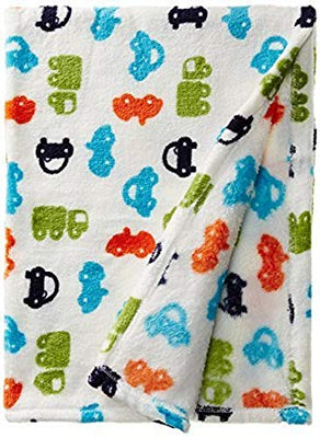 Baby Lovespun CARS Plush Blanket Blanket 30