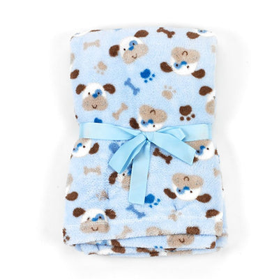 Baby Lovespun Puppies Plush Blanket Blanket 30