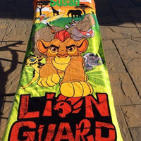 The Lion King Lion Guard Kion Beach Towel - Personalized