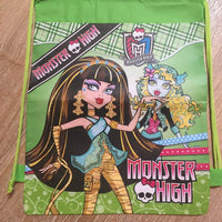 Monster High Drawstring Backpack Sling Bag – Personalized