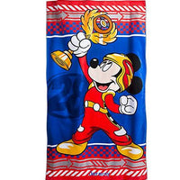 Oversize MICKEY Roadster Racer Beach Towel - Personalized Beach Towel - 30x60